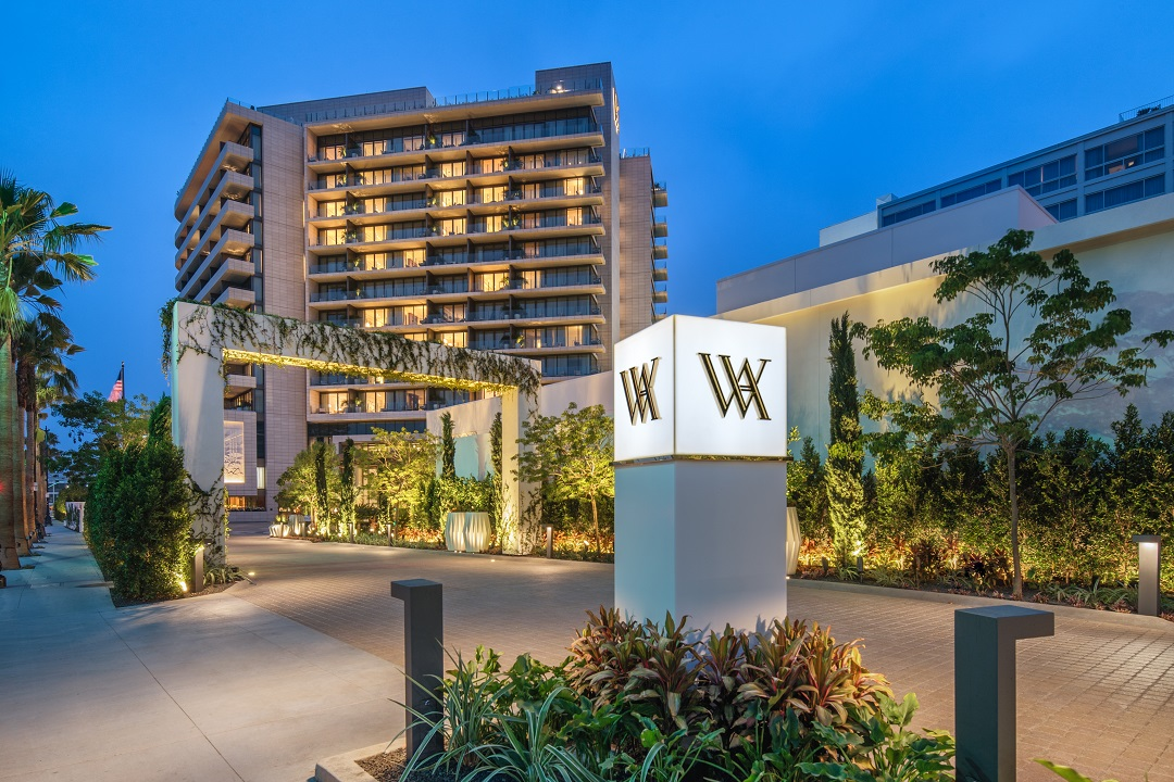 Waldorf Astoria Beverly Hills extérieur