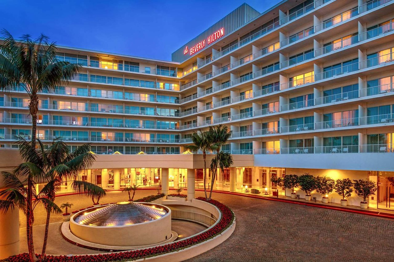 exterieur hotel beverly hilton