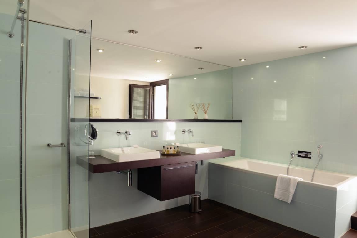 salle de bain - hotel La Roya