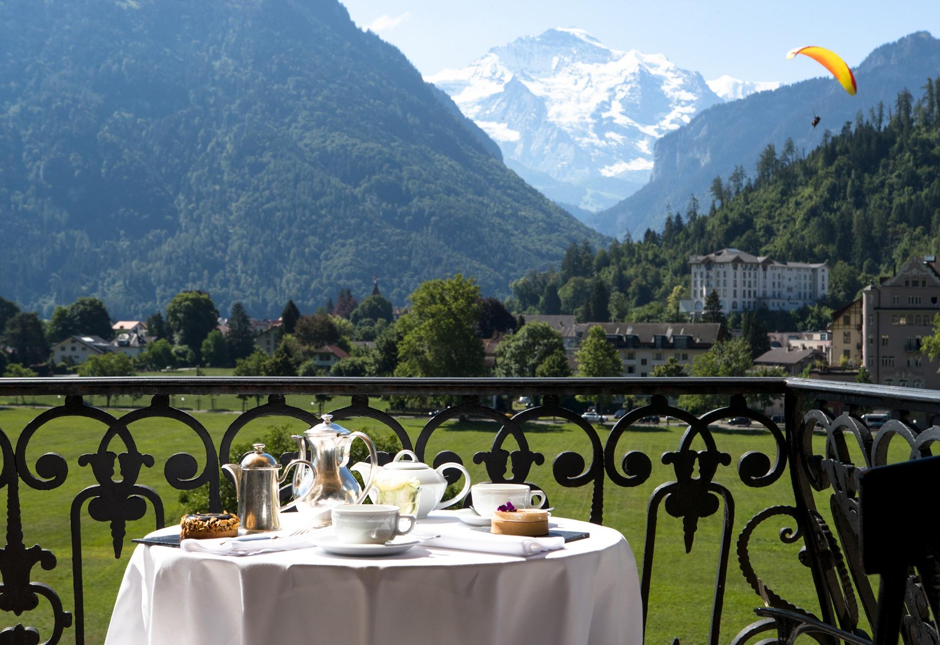 Victoria-Jungfrau Grand Hôtel & Spa paysage