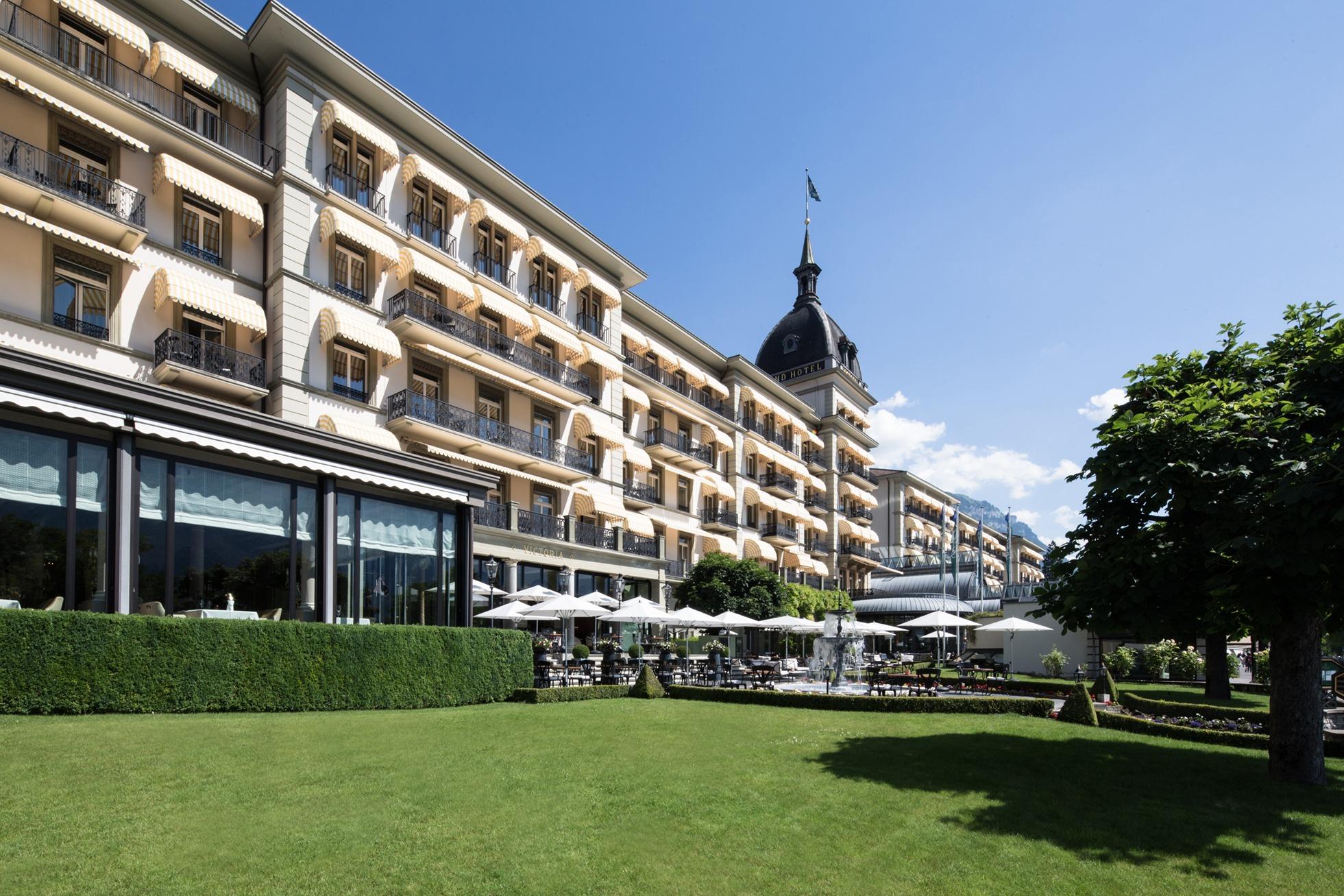 Victoria-Jungfrau Grand Hôtel & Spa extérieur